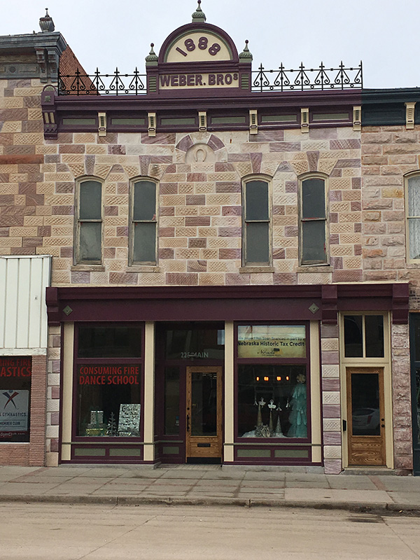 After - Sandstone Building in Chadron, NE (1888)
